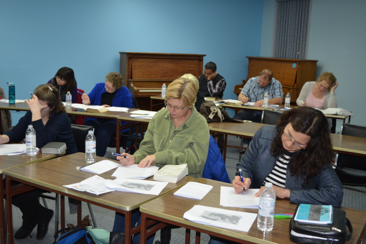 Studying inductively with the group in Moose Jaw